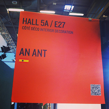 AN ANT AT MAISON&OBJET PARIS