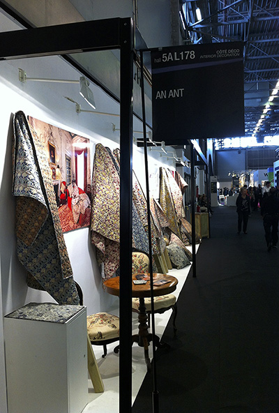 an ant liberty quilts Maison & Objet