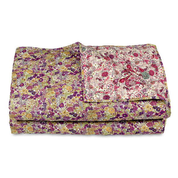 LIBERTY FABRICS LONDON DOUBLE SIZE QUILTS AND CUSHIONS HANDMADE UNIQUES AN ANT
