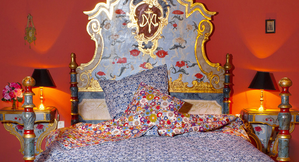 WEDDING GIFT LIBERTY LONDON QUILTS AND CUSHIONS