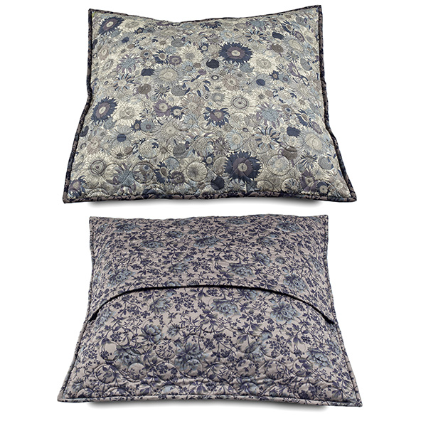 2 CUSHION COVERS LibertyFabrics London  MOON 60, 60cmX60cm