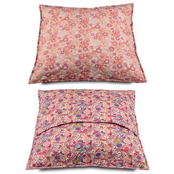 2 CUSHION COVERS  LibertyFabrics London MOON 81 60cmX60cm